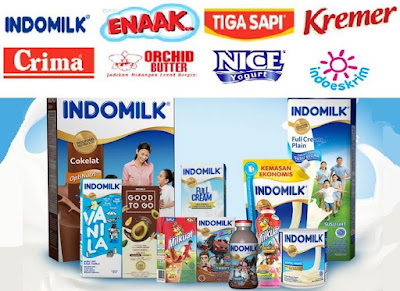 distributor susu Indomilk, Cap Enaak, Tiga Sapi