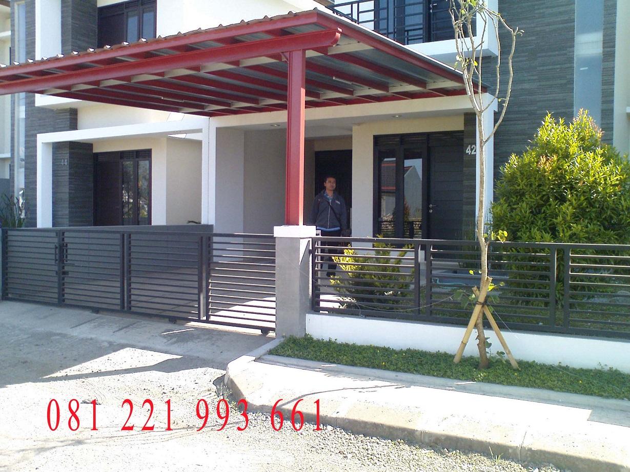 Model Pagar Rumah Modern Minimalis 081221993661 Pagar Rumah Terkini