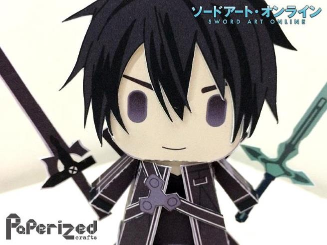 Kirigaya Kazuto Sword Art Online Minimalist By Migliori Pagine Da