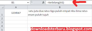 Download Terbilang Excel Rupiah