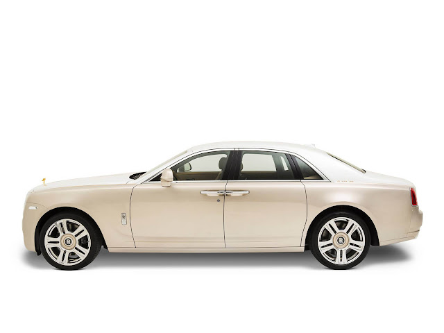 2017 Rolls Royce Ghost inspired by Ancient Trade Routes - #Rolls_Royce #Ghost #Ancient #new_car