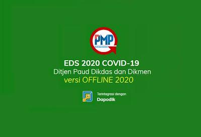 PMP UPDATE : Rilis Aplikasi EDS 2020 Covid 19