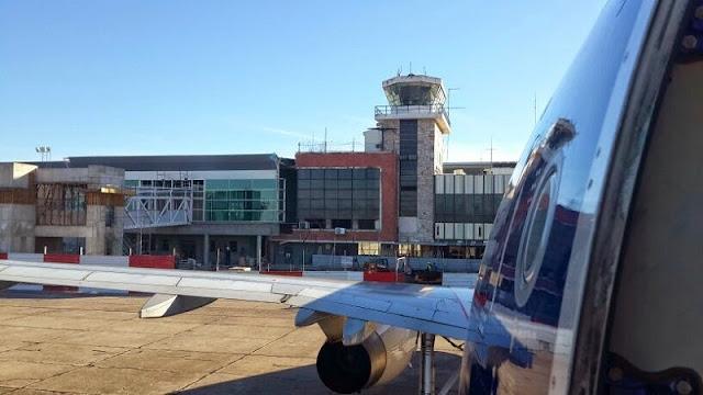 Tempo do aeroporto até o centro de Córdoba