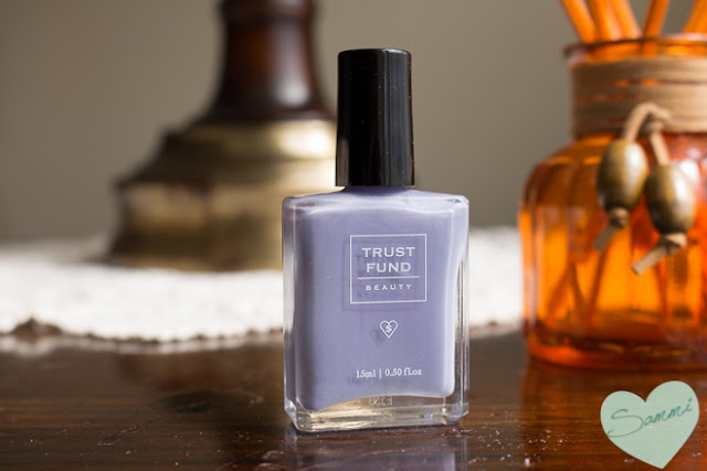 Rainy Day Manicure: Review and Swatches of Trust Fund Beauty Nail Polish in Elegantly Wasted