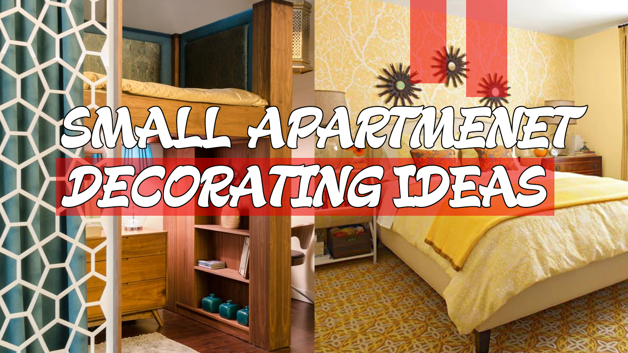 5 Small Apartment Decorating Ideas