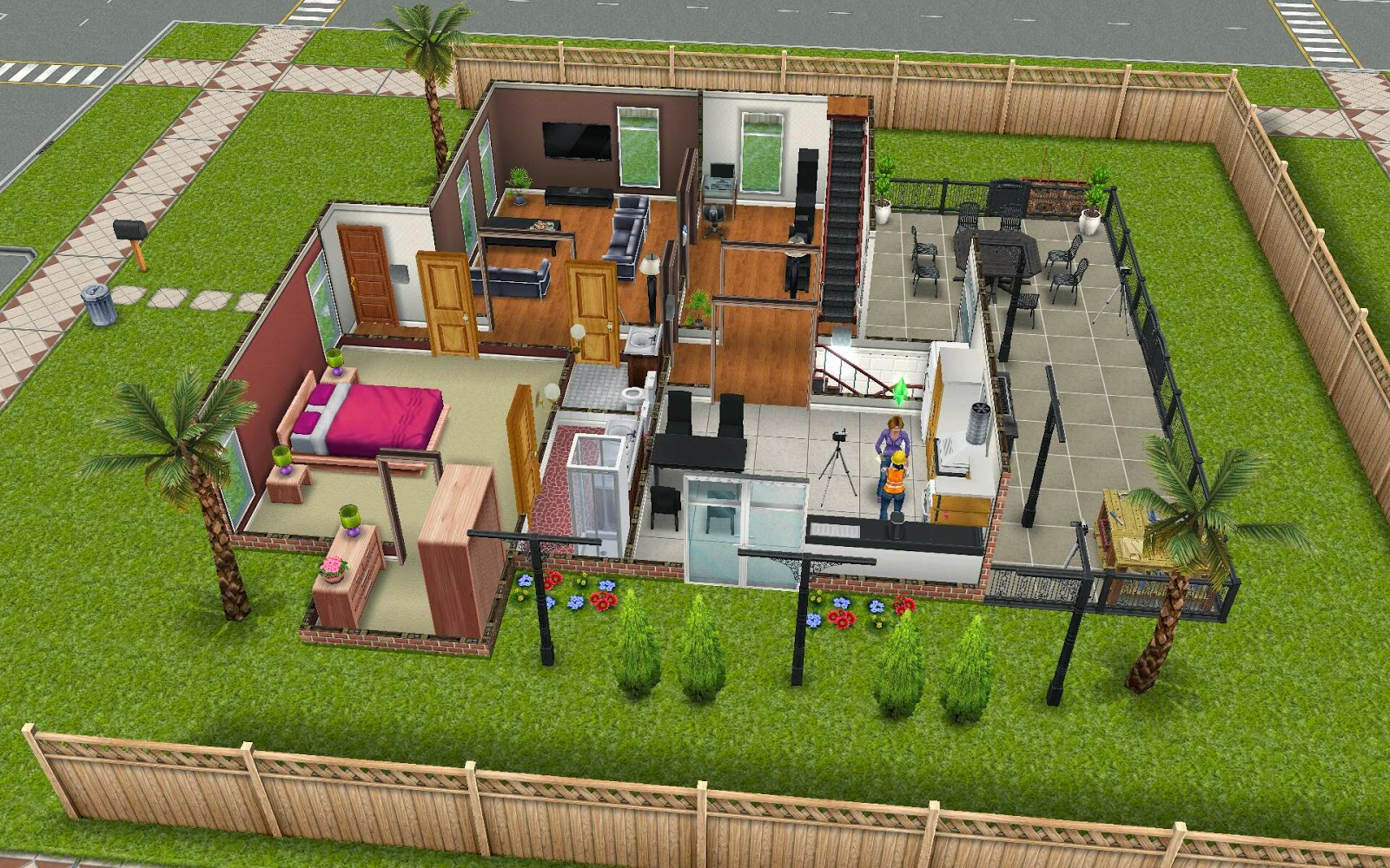 Sims Freeplay Housing Diy Home Quest