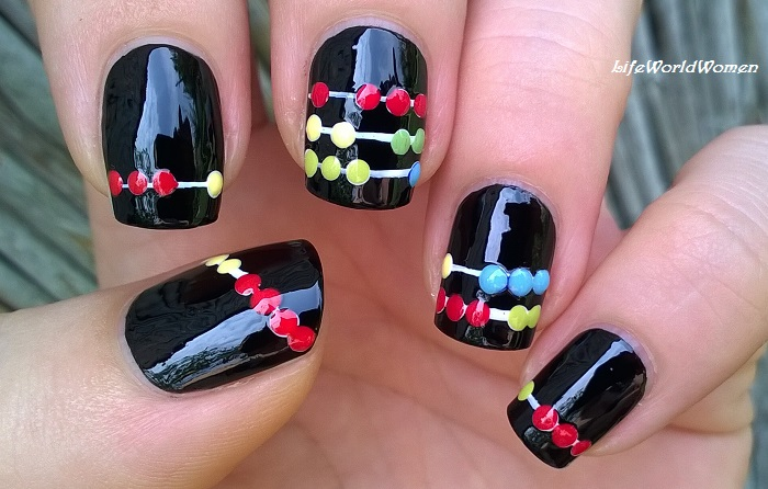 Life World Women: Back To School Nails: Abacus Nail Art