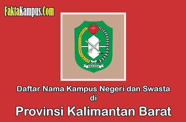Kampus Terbaik di Kalimantan Barat