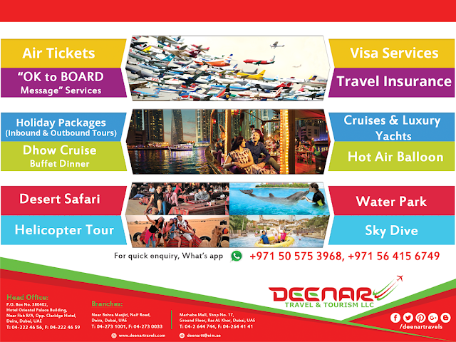 Deenar Travel & Tourism llc dubai