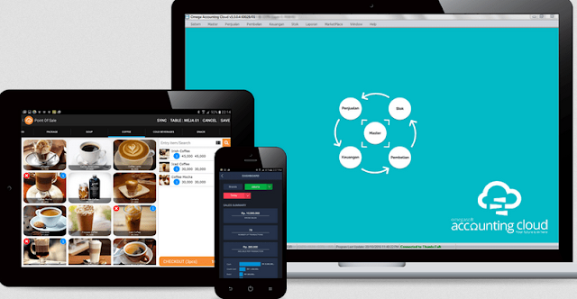Aplikasi Kasir Online Omegasoft - Sumber: Omegasoft.co.id