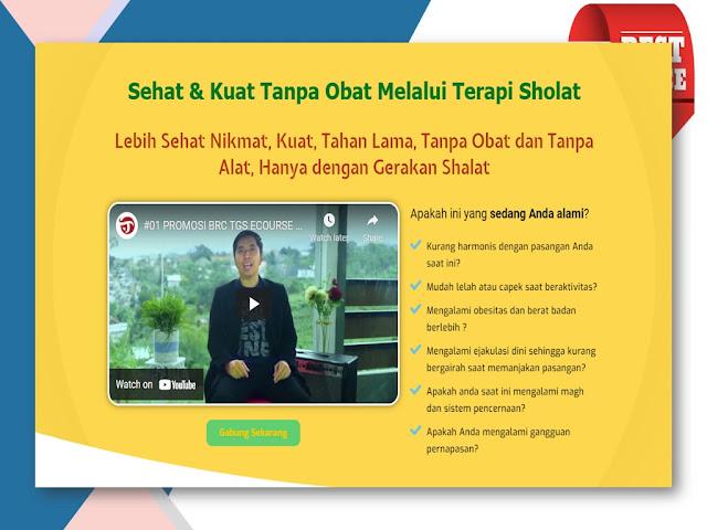 Belajar Terapi Gerakan Sholat untuk Kesehatan Alat Vital di Bogor