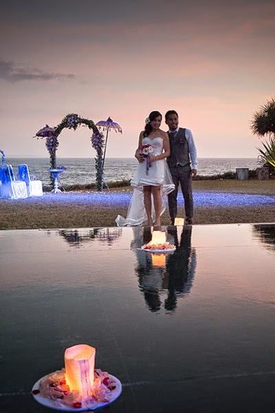 "Boda ""a la occidental"" en Bali"