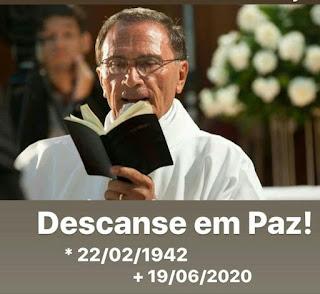 Em Guarabira líder comunitário Domar Justino lamenta morte do diácono permanente Lázaro Guedes