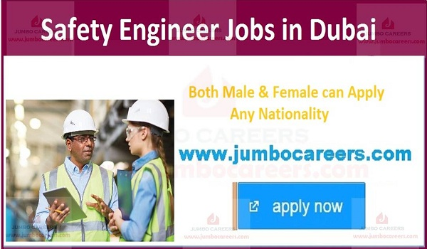 Current Safety Engineer jobs in Dubai,