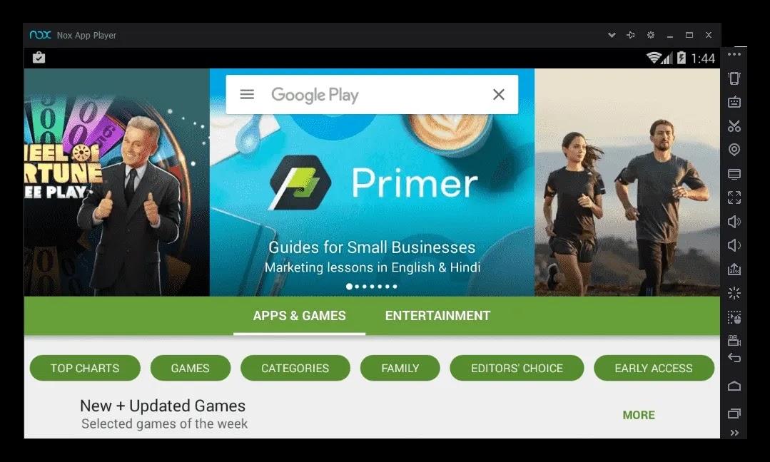 Nox App Player 6.2.8.3 Offline Free Download