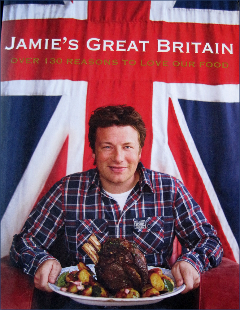 Jamie's Great Britain Book Cover