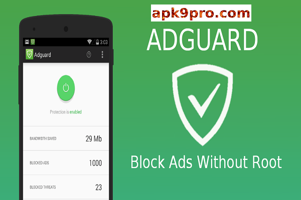 Adguard Premium v3.5.32 Apk Full + Mod Pro [Nightly/Lite] File size 35 MB for android