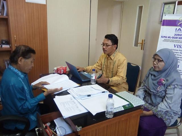 Tingkatkan Kerapian Administrasi, Jurusan IAT Laksanakan Audit Internal