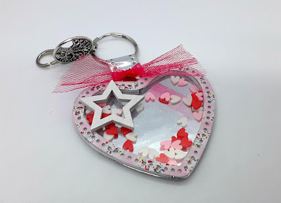 Key ring die cut