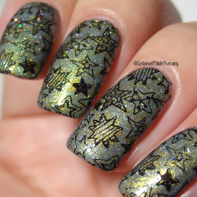 Girly Bits Act Your Sage, BornPrettyStore BP-184, Bundle Monster Heart of Gold & Straight Up Black
