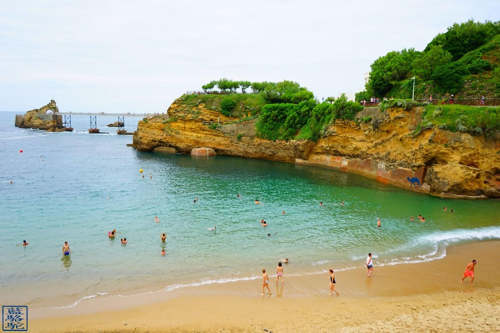 Le Chameau Bleu - La Plage du Port-Vieux - Biarritz- Sud Ouest