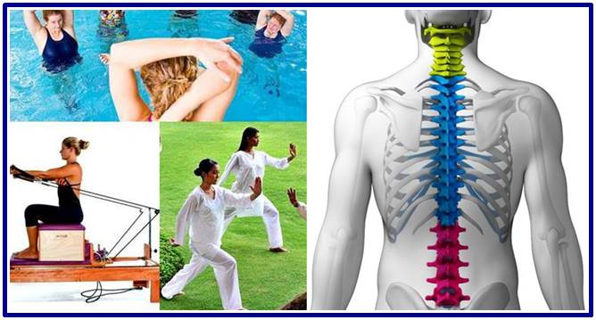 Best types of workout and therapies for your spine
