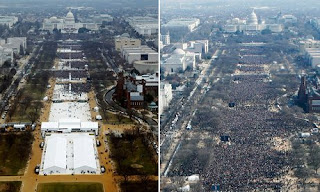 inaugural crowd comparision