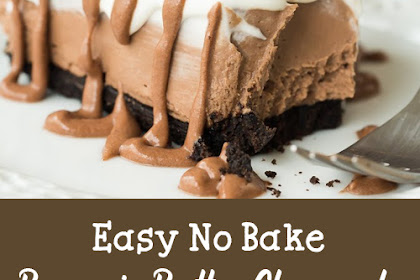 Easy No Bake Brownie Batter Cheesecake Recipe [Video]