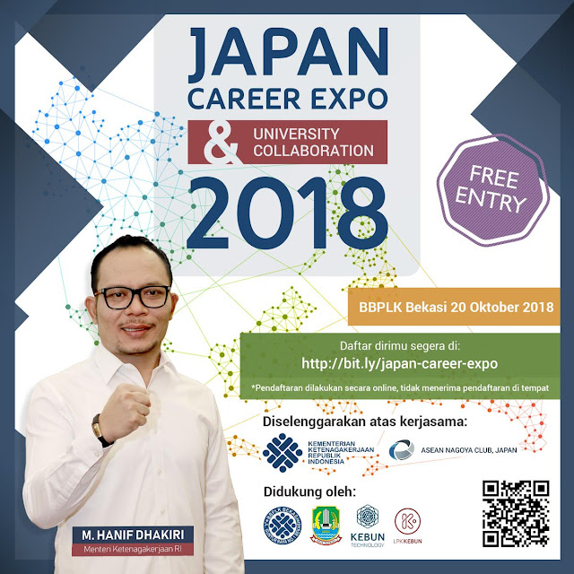 Japan Career Expo 2018 (Gratis)