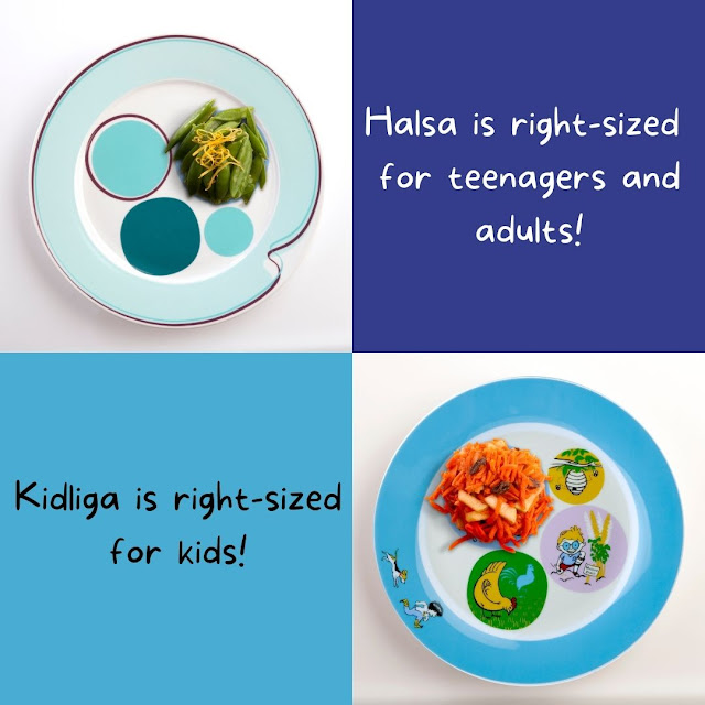 Livliga has Right sized Dinnerware for All Ages and Needs