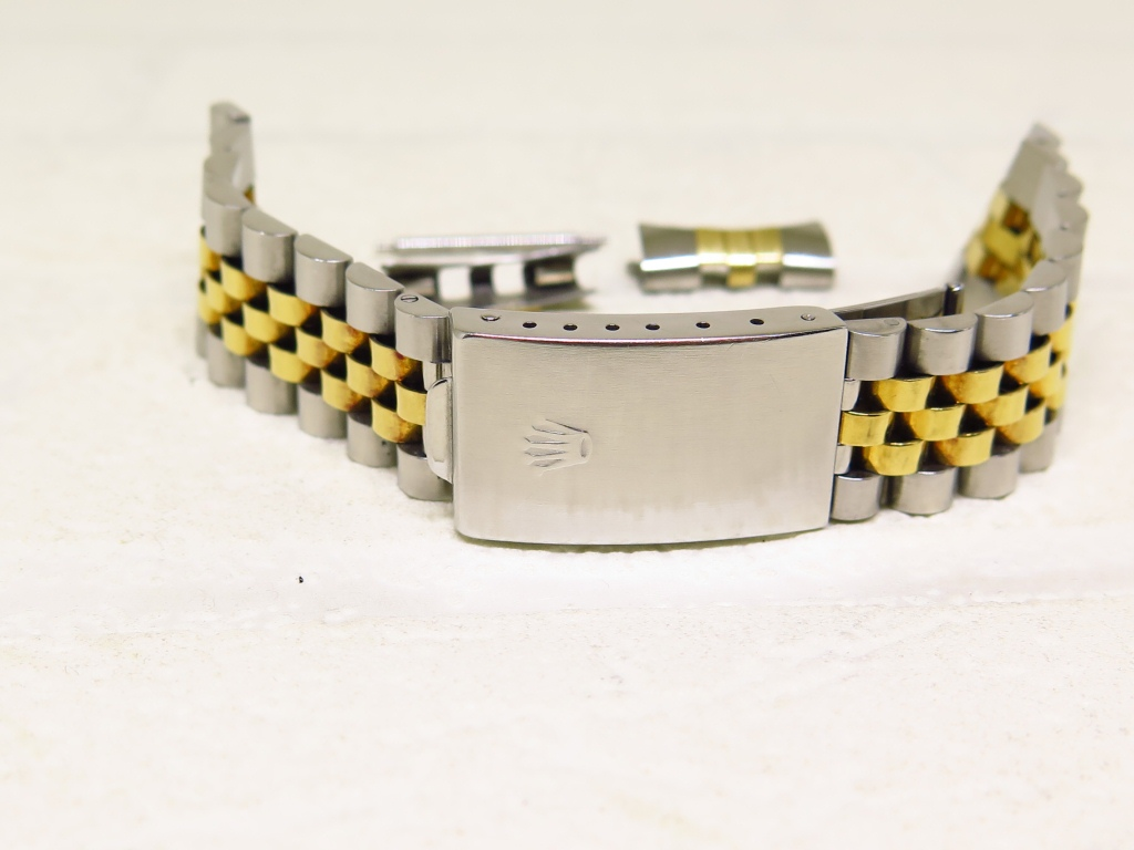 ROLEX 16233 JUBILE TWO TONE BRACELET SS AND 18k GOLD