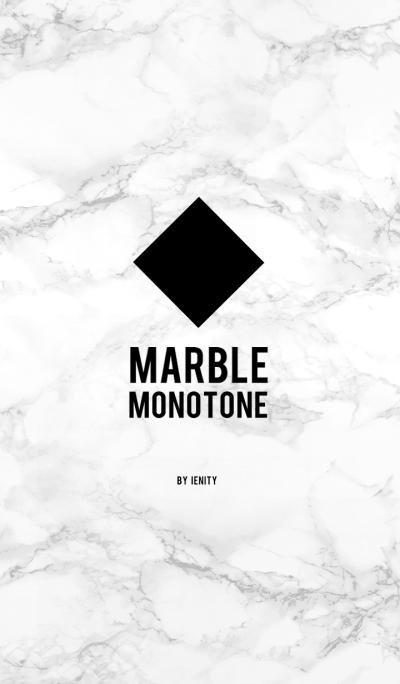 Marble - White .