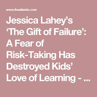 Jessica Lahey - The Gift of Failure
