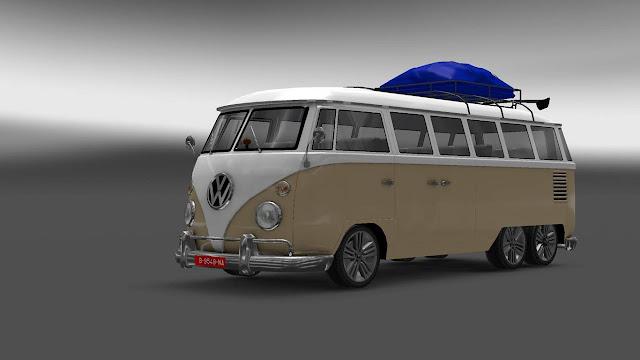 Mod mobil VW Combi ets2 exterior
