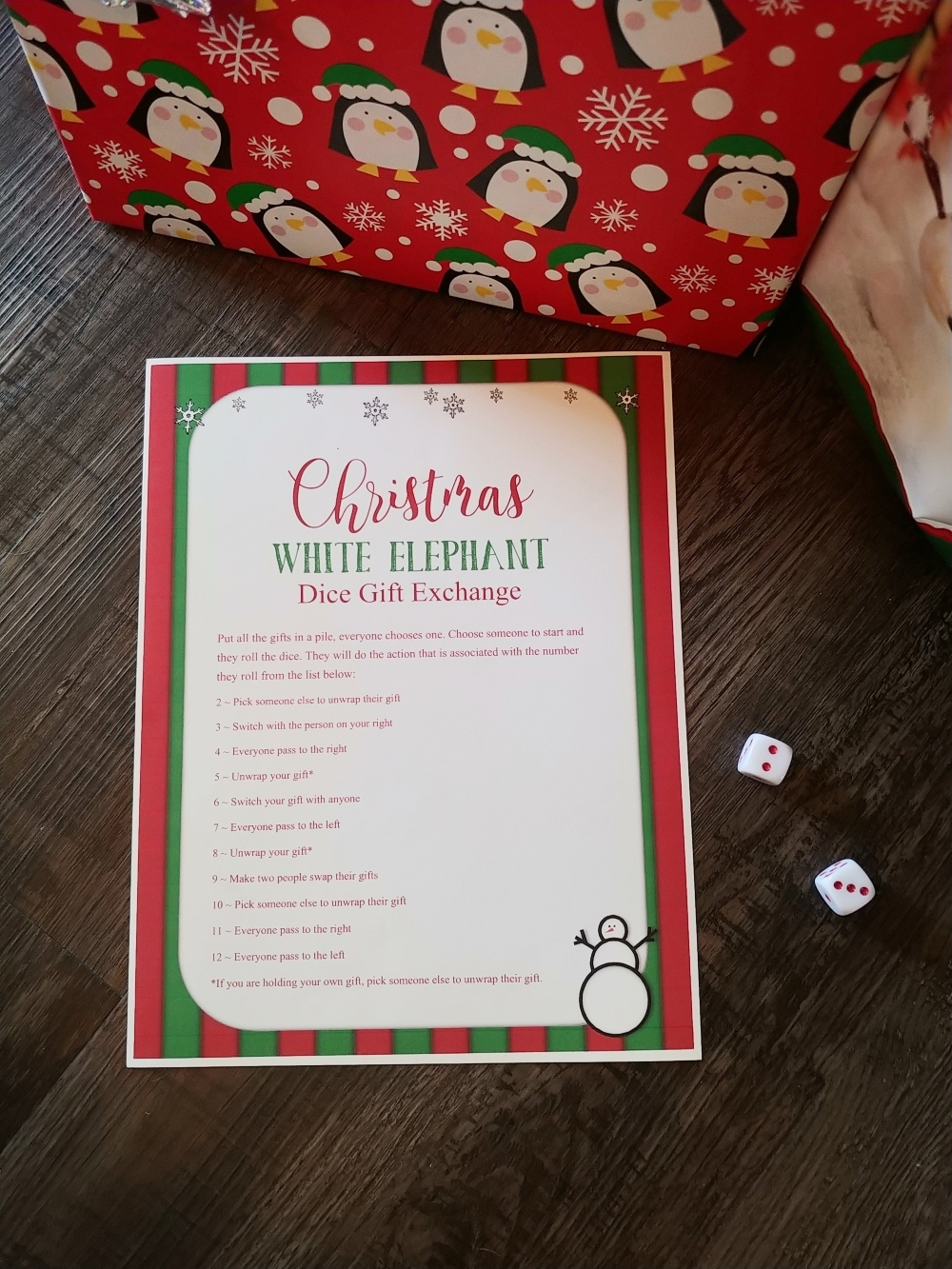 Christmas White Elephant Gift Exchange With a Twist!