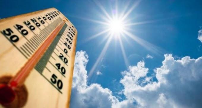 Meteorología pronostica ocurrencia de aguaceros y temperaturas calurosas este domingo en territorio dominicano