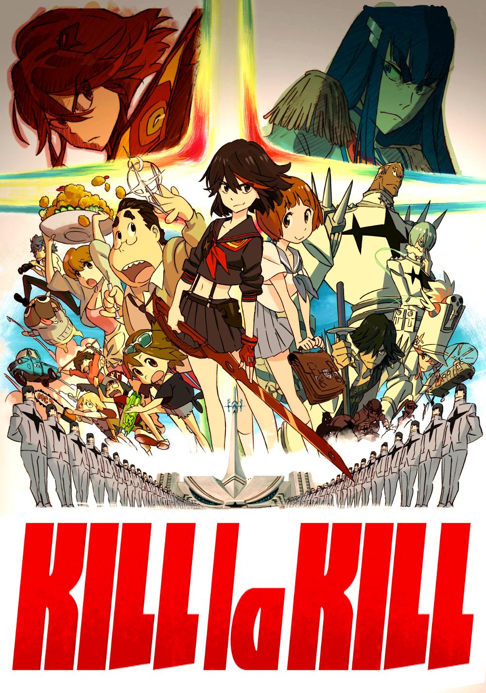 Kill La Kill [24/24]+Ovas [Sub.Español] [HD] [MEGA]