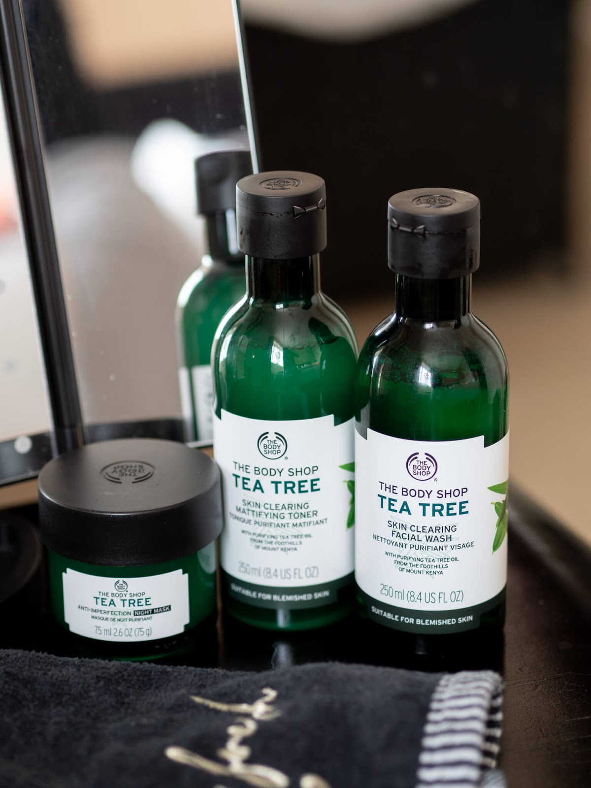 Tea Tree products for acne & blemishes