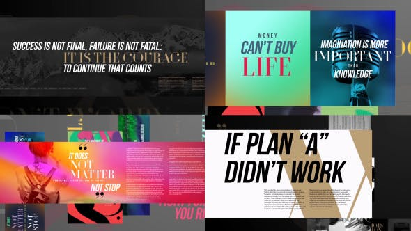 Typography Slideshow[Videohive][After Effects][13209399]