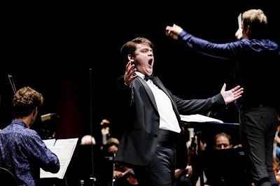 Queen Sonja International Music Competition 2019 - Stefan Astakhov (Germany), Risto Joost (Photo Adrian Nielsen)