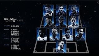2018 fifa yilin en iyilerini belirledi, işte yılın futbolcusu, 2018 fifa yılın 11'i, yılın kalecisi, yılın fair play ödülü, yılın golü, yılın teknik direktörü, yılık kadın futbolcusu, modric, marta, messi