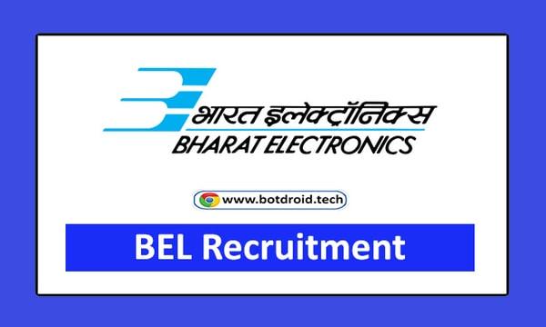 BEL Recruitment 2021 Apply Online Trainee Vacancies - BEL India Jobs