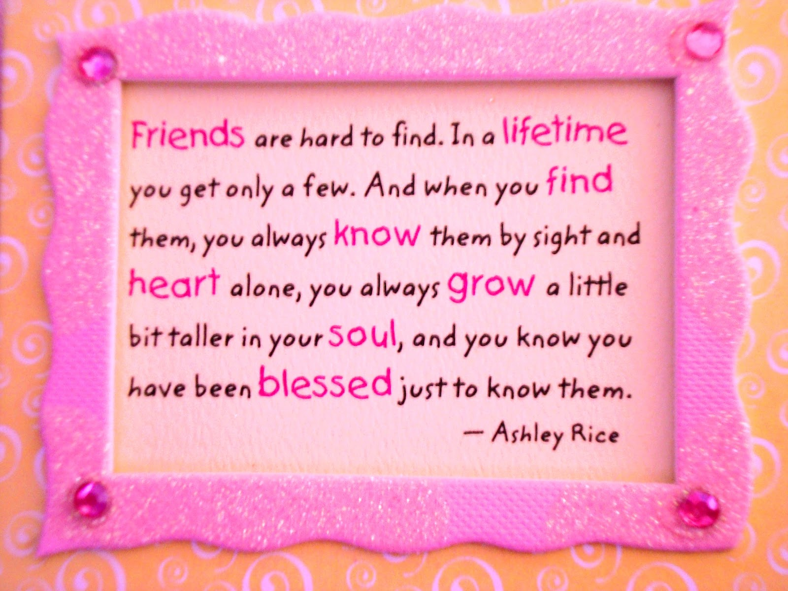 Friendship Quotes: I Love You-Picture And Quotes