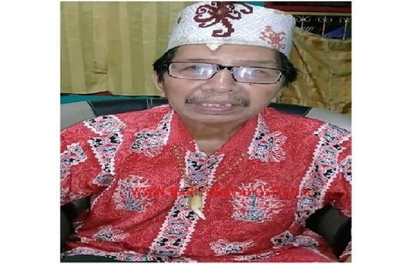 Damang Kepala Adat Paku Karau, Mengucapkan Terima Kasih TNI - POLRI: NKRI Harga Mati