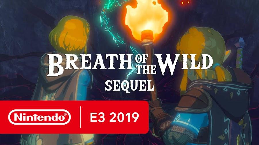 legend of zelda breath of the wild sequel nintendo switch e3 2019