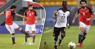 محمد صلاح يحرم منتخب غانا من صدارة المجموعة كأس الأمم الأفريقية لكرة القدم 2017