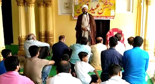 #JaunpurLive : हर्षोल्लास के साथ सम्पन्न हुआ जश्ने ईदे गदीर का त्योहार