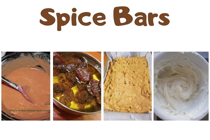 this is college of how to make spice cake bars