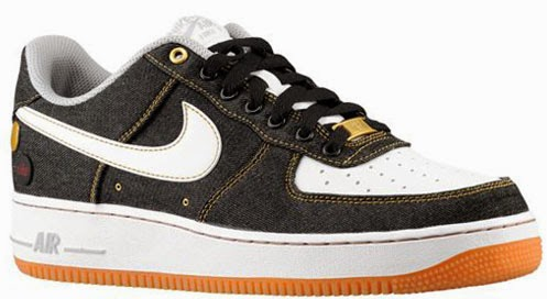 Nike Air Force 1 Low  07 Denim Black White-Gum Medium Brown-Wolf Grey Now  Available a180c527fe