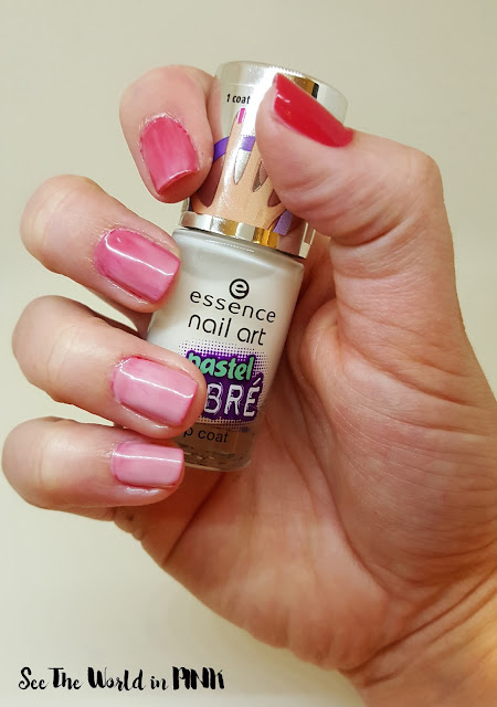 Essence Cosmetics Pastel Ombre Top Coat Review